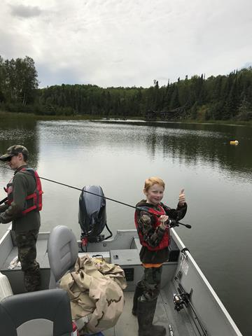 2018 Boys in boat fishing